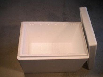 100 liter isolier box 720x480x300mm styropor box thermobox wandst rke 30mm ebay. Black Bedroom Furniture Sets. Home Design Ideas