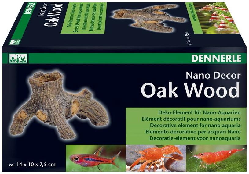 Dennerle nanodecor oak wood deko baumstamm optimal zum bepflanzen - Nano aquarium deko ...